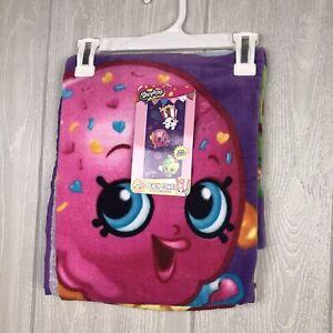 New Shopkins Purple Beach Bath Towel 28in X 58in Cotton Bright Colorful