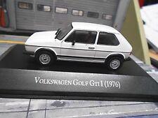 VW Volkswagen Golf GTI MKI 1976 weiss white 3 Türer IXO Altaya SP 1:43