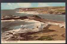 Cornwall Postcard - The Breakwater, Bude      RS6715