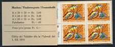 Switzerland #B394 - B396.  1970 Pro Juventute - Complete Booklet - 20 stamps