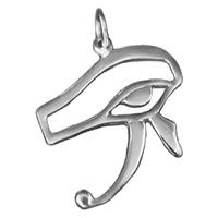 Ägyptischer Auge Des Horus Anhänger 925er Silber Symbol Schmuck - NEU