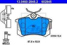 ATE Bremsbelagsatz Hinterachse(HA) 13.0460-2845.2 für RENAULT SCÉNIC II (JM0/1_)