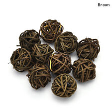 10pcs Rattan Ball Wedding Party Ornament Craft Dried Ball Festival Decor