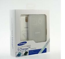 OEM Samsung Galaxy Note 3 S Charger Kit Inductive Qi Wireless Charging Pad+Cover