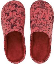 PEANUTS x UNIQLO 'Characters' Unisex Room Shoes / Slippers M9 / W10 Snoopy *NEW*
