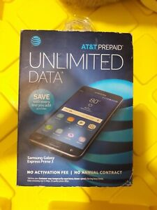*NEW* PREPAID SEALED At&t Samsung GALAXY Express Prime 3 , 16GB,  4G LTE