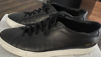 common projects  Men's 44/ 11 USA Blsck/white