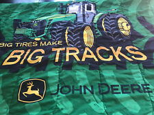 John Deere Reversible Comforter Full-Size Bed
