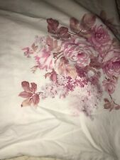 Simply Shabby Chic Single Standard All Cotton Floral Pillow Sham Pink Roses