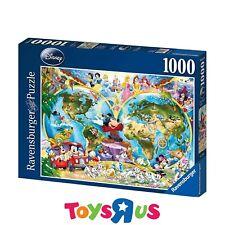 Ravensburger Disney's World Map 1000pc Puzzle