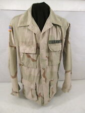 US Army 3-Color Desert Camouflage Uniform BDU Coat or Shirt - Size Large/Long