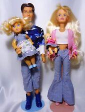 2003 Friends Family Sindy doll Patti, Baby Rosie & Robbie