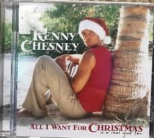 Kenny Chesney - All I Want for Christmas Is a Real Good Tan New CD SEALED