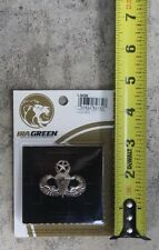 Authentic U.S. Army Master Parachutist Badge w/ One Combat Jump, Airborne Wings