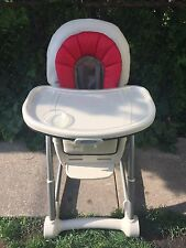 GRACO 4 IN 1 CONVERTIBLE HIGH CHAIR SEATING SYSTEM BLOSSOM - Perfect Condition
