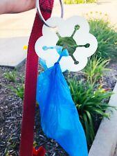 New listing Dog Waste Bag Holder Dog Poop Holder for Leash Hands Free Waste Holder