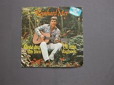 """SG 7"""" 45 rpm 1975 REINHARD MEY - ALS DE DAG VAN TOEN - UIT MIJN DAGBOEK"""