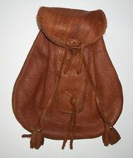 "Handmade Leather Scottish Sporran Pouch/Bag (Brown) - Mountain Man/Scot -""NEW"""