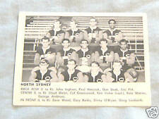 1967 DAILY MIRROR CARD -  NORTH SYDNEY TEAM PICTURE