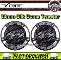 VIBE AUDIO BLACKAIR 1 ba1-v1 180 Watt 38MM soie Dôme portière auto haut-parleurs