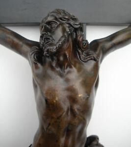17th C. BRONZE JESUS CHRIST attr. Alessandro Algardi !