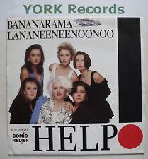 """BANANARAMA LA NA NEE NEE NOO NOO - Help - Ex7"""" Single"""