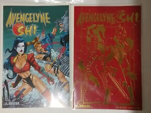 Alternative huge comic Avengelyne Dragon Realm Bad Blood Dark Depths  NM BB