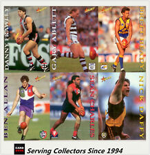 1995 Select AFL Series 1 Trading Card  Full Base Set (250 cards)--Hard to find!