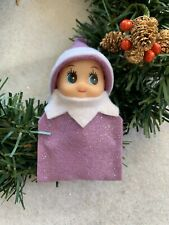 Baby Elf Doll In Purple Elf On The Search For A Family