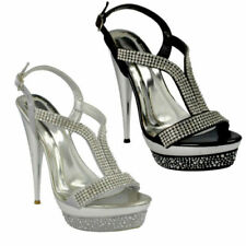 3d067fedd624 Very High Heel (4 1 2 in or More) Stiletto Evening   Party Sandals for  Women