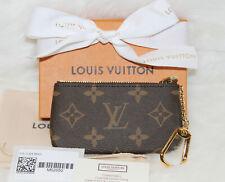 2019 NWT! LOUIS VUITTON Key Pouch Monogram Coin Card Wallet