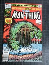 MARVEL MAN-THING #1 1979