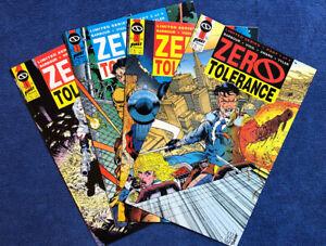 Zero Tolerance, Set:#1-4, 8.0/VF (1990) First Comics 1990-1991