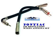 Pontiac Antenna Adapter FM Modulator Wire Set 1986-2008