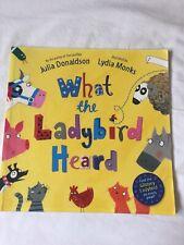 What The Ladybird Heard Julia Donaldson