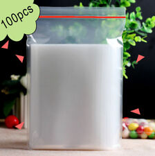 Small Clear Clear Bags Plastic Baggies Grip Self Seal Resealable Zip Locks