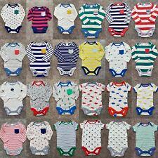 New Baby Mini Boden Boys Single Bodysuit Stripes & Prints 0/3 Mnths - 2/3 Yrs