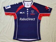 Melbourne Rebels 2014 BLK Home Super 15 Rugby Jersey Sizes S
