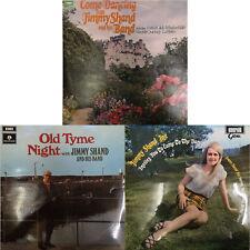 Job Lot of 3 x Jimmy Shand (Snr & Jnr) LP Records (JL118)