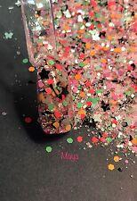 glitter mix nail art acrylic gel    MAYA