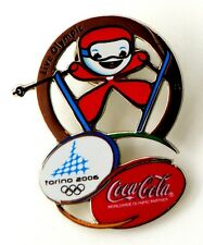 Pin Spilla Olimpiadi Torino 2006 - Coca-Cola Mascot Freestyle