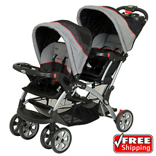 Baby Trend Sit N Stand Plus Double Stroller Infant Carriage Buggy Millennium