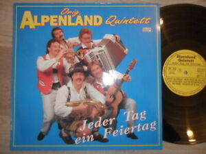 Orig. Alpenland Quintett / Jeder Tag ein Feiertag MCP Records Vinyl /LP