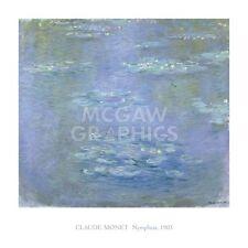 """MONET CLAUDE - NYMPHEAS, 1903 - ART PRINT POSTER 40"""" X 40""""(1687)"""