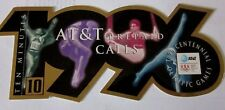 1996 Olympics AT & T Phone card 10 Minutes