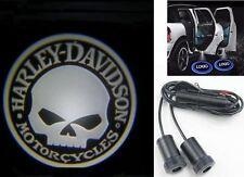 Harley Davidson LED Projektor Skull Car Door Logo