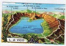 figurina TUTTA ITALIA FOL. BO SERIE NUMERO 1 NEW N. 282 LAGO DI VICO