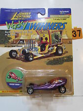 JOHNNY  LIGHTNING WACKY WINNERS SERIES 1 CHERRY BOMB PURPLE