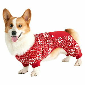 Fair Isle Red Print Dog Pajamas by Bee & Willow