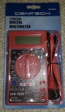 CENTECH 7 Function Digital Multimeter Meter 69096 / 98025 / 90899  ***NEW***